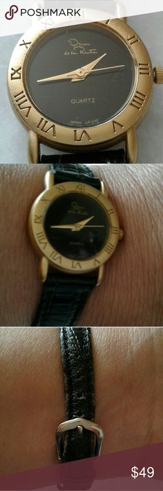 Oscar de la renta watch Band a little worn Oscar de la Renta Accessories Watches