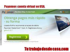 Cómo pagar y recibir dinero online con PayPal y Payoneer #GanarDinero