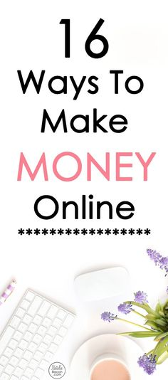 16 ways to make money online that are legit and can help you stop living paycheck to paycheck