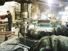 Notre atelier acier #forge #design #wood #bois #acier #steel #atelier #workshop #hand #made