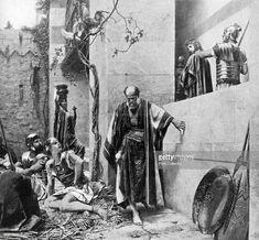 size: Giclee Print: The Denial of Saint Peter, 1926 by Ferdinand Graf von Harrach : Follow Jesus, Bible Art, Ferdinand, Denial, Betrayal, Find Art, Framed Artwork, Worship, Giclee Print