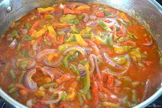 Γαρίδες σαγανάκι με φέτα | Συνταγές - Sintayes.gr Thai Red Curry, Feta, Ethnic Recipes