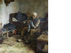 Walter Langley  -  A Flemish Peasant