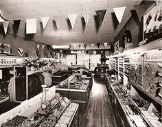 Great pic of an old hardware store.