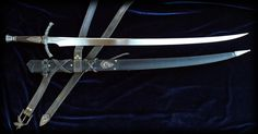 Heron Marked Sword of Tamlin and Rand al'Thor - by Brendan Olszowy Fable Blades