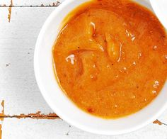 Süss-scharfer Bananendip #Ketchup #Banane #Curry