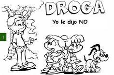 SUPERMAJE: no anden con la droga