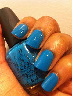 OPI Ogre-The-Top Blue