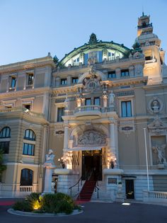 Opera Garnier de Monte Carlo. The architectural masterpiece designed by Charles Garnier and decorated by the most acclaimed painters and sculptors