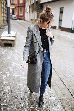 Awesome Great Entdecken Sie die Modetrends der Saison im Herbst, Winter . Mode Outfits, Fashion Outfits, Women's Fashion, Fashion Trends, Fashion Bloggers, Casual Outfits, Trendy Fashion, Fashion Women, Fashion Coat