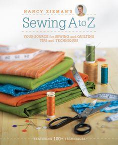 Nancy Zieman's Sewing A to Z ~ Free Seam Finishes PDF Download « Sew,Mama,Sew! Blog