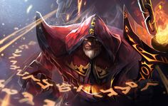 #DOTA2 The Warlock by biggreenpepper.deviantart.com on @deviantART