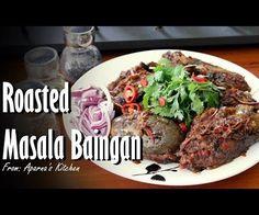 Roasted Masala Baingan [Eggplant] - Recipe