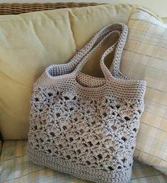 Daisy Fields Market Tote - Free Crochet Pattern - The Lavender Chair