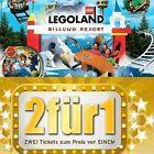 #Ticket  LEGOLAND 2 für 1 GÜNZBURG / BILLUND GUTSCHEIN / FREIKARTE GÜLTIG BIS 31.03.2017 #Ostereich