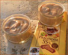 Envie d'une petite crème facile et rapide à faire, eh bien vous venez de la trouver. Ce petit goût de Pralinoise, hum, j'en rêve encore... ...
