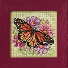 Wichelt Imports, Inc. Winged Monarch Counted Cross-Stitch Kit