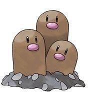 pokemon go Dugtrio