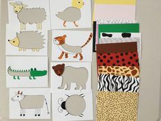 Animal skin puzzle for toddlers and kids, printable, DIY puzzle for toddlers, activities for 22 month old, activities for 23 month old, activities for 24 month old, activities for two year old, activities for 3 year old, educational activities