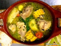Aprende a preparar sancocho de gallina o pollo con esta rica y fácil receta.  El sancocho es un caldo espeso o sopa a base de tubérculos como la papa que tiene un...