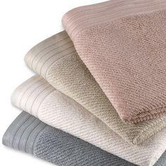 Soho Towel Collection - BedBathandBeyond.com. We have slate and natural.