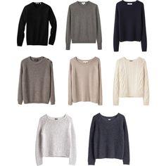 Capsule Wardrobe--Sweaters