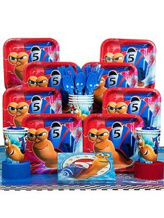 Dreamworks Turbo Birthday Party - Cool Stuff to Buy and Collect Birthday Party Themes, Boy Birthday, Birthday Ideas, Birthday Cake, Partying Hard, For Your Party, Dreamworks, Party Favors, Party Supplies