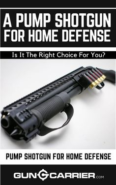 There is a constant debate as to which type of firearm would make the best choice for home defense. For me nothing comes close to the 12 gauge pump shotgun. Click this link to find out if the Pump Shotgun is the right choice for your Home Defense! Hidden Weapons, Weapons Guns, Guns And Ammo, Shotguns, Firearms, Home Defense Shotgun, Combat Shotgun, Henry Rifles, Home Protection