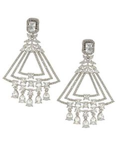 This season Anuradha Art Jewellery Presents Wonderful Collection of Diamond Earrings. To see all the collection visit our website: anuradhaartjewellery.com #diamondearrings #americandiamondearrings #adearrings #rubyearrings #designerearrings #adjewellery #earrings #jewelrystores #longearrings #latestfashion #latestearrings #fashionearrings #diamond #americanearrings #americanjewellery #artificialearrings #glassearrings #danglersearring Long Diamond Earrings, Ruby Earrings, Small Earrings, Glass Earrings, Chandelier Earrings, Jewelry Art, Jewellery, Designer Earrings, Fashion Earrings