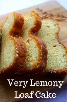 A recipe for a very Lemony Lemon cake! A recipe for a very Lemony Lemon cake! Lemon Desserts, Lemon Recipes, Baking Recipes, Dessert Recipes, Bread Recipes, Sweets Cake, Cupcake Cakes, Lemony Lemon, Lemon Bread