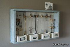 DIY: хранение украшений