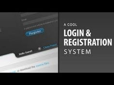 http://simpletut.com/ - Learn how to develop your own User Registration System including Email Password from scratch! This tutorial also covers designing you...