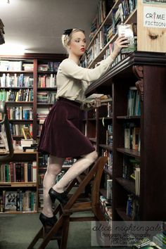I work in a bookstore and I don't look like this and neither does anyone else who works there!