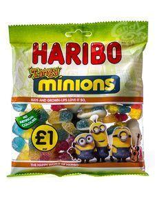 Haribo Tangy Minions 180 g