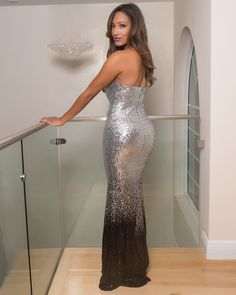 a545a37f8f0 Mariah Evening Gown - Semai House Of fashion Sequin Evening Gowns