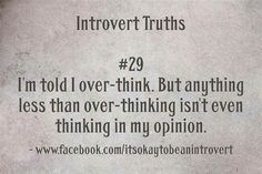 Introvert Truths #29