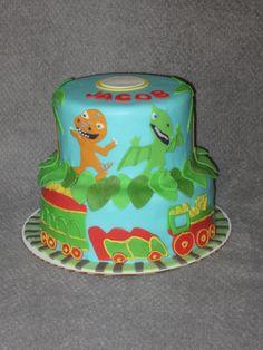 Dinosaur Train themed cake