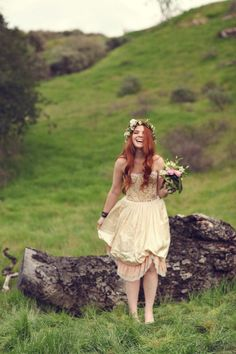 Swooned: Irish Fairy Tale: A Moodily Romantic Styled Shoot Inspired by St. Patrick's Day