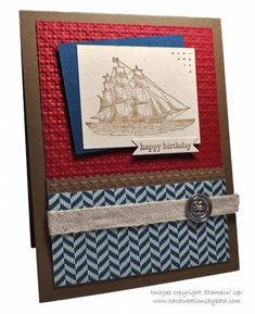 Nautical Birthday by mcalexab - Cards and Paper Crafts at Splitcoaststampers