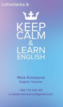 Keep Calm & Learn English