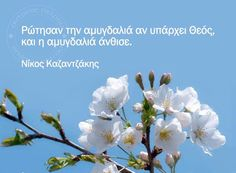 Νίκος Καζαντζάκης Greek Quotes, Book Quotes, Wise Words, Christianity, Philosophy, Meant To Be, Literature, Poems, Wisdom