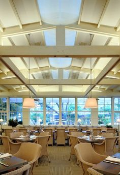 The 10 Most Beautifully Designed New Restaurants : Architectural Digest - french blue, california
