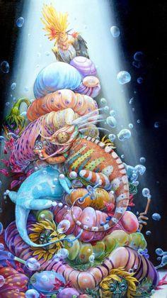 Surreal Illustrations by Hannah Faith Yata (10)