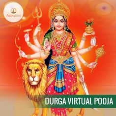 Pray to Durga for Courage, StreSngth, Confidence, Intelligence blessing. Durga Virtual Pooja https://www.astroved.com/astropedia/en/virtual-pooja/durga-pooja