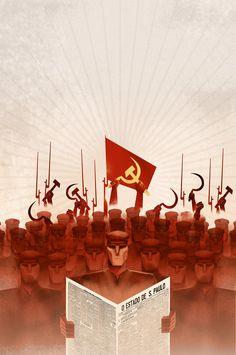 Al chile perdn. Communist Propaganda, Propaganda Art, Soviet Art, Soviet Union, Le Vent Se Leve, Monster Board, Russian Culture, Russian Revolution, Power To The People