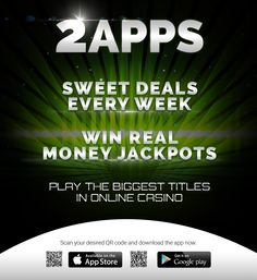 Want to avail of sweet deals every week?Download 2apps now & play the biggest titles in online casino.#apps #appdev