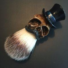 Brocha de afeitar de Tophat Original negro