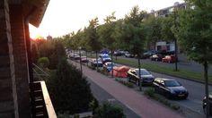 Politiebusje Bergen op Zoom met spoed