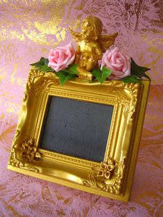 Nouveau Rococo Frame by NouveauRococo on Etsy Made by my own fair hands <3