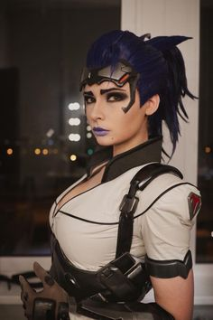 Widowmaker from overwatch cosplay by Jannet Incosplay #widowmakercosplay #overwatch #cosplaygirl #cosplayclass